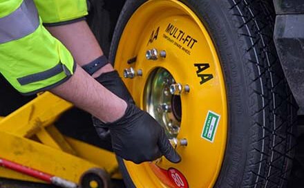 The AA Careers AA Multifit Spare Whee