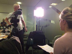 The AA Careers Camera Man