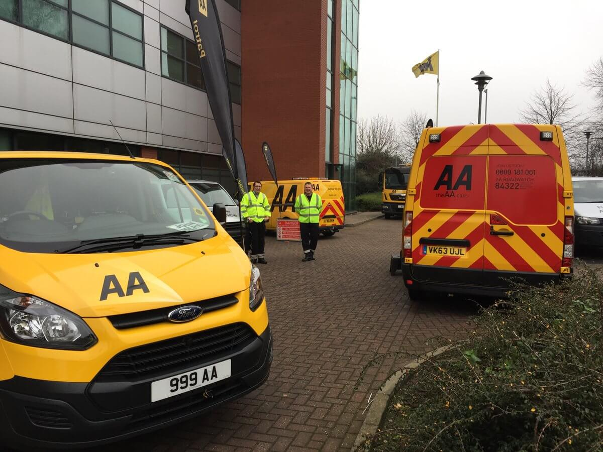 The AA Careers Patrol Show And Tell