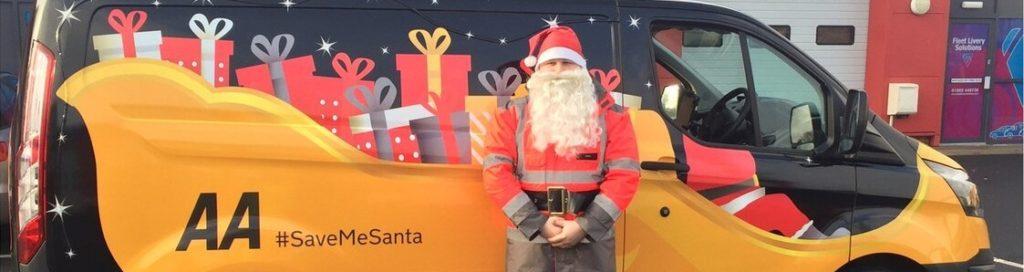 The AA Careers Santa The AA