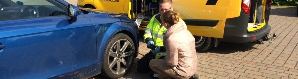 The AA Careers Wheel Fix